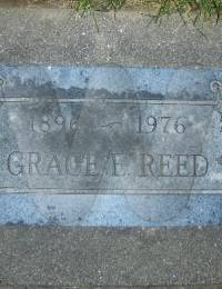 Grace Evert Reed Tombstone